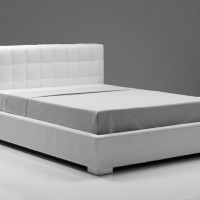 Spectra Leather Storage Bed
