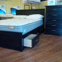 Apollo Storage Bed (solid wood)