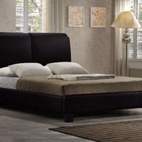 Primo 6082 Leather Platform Bed