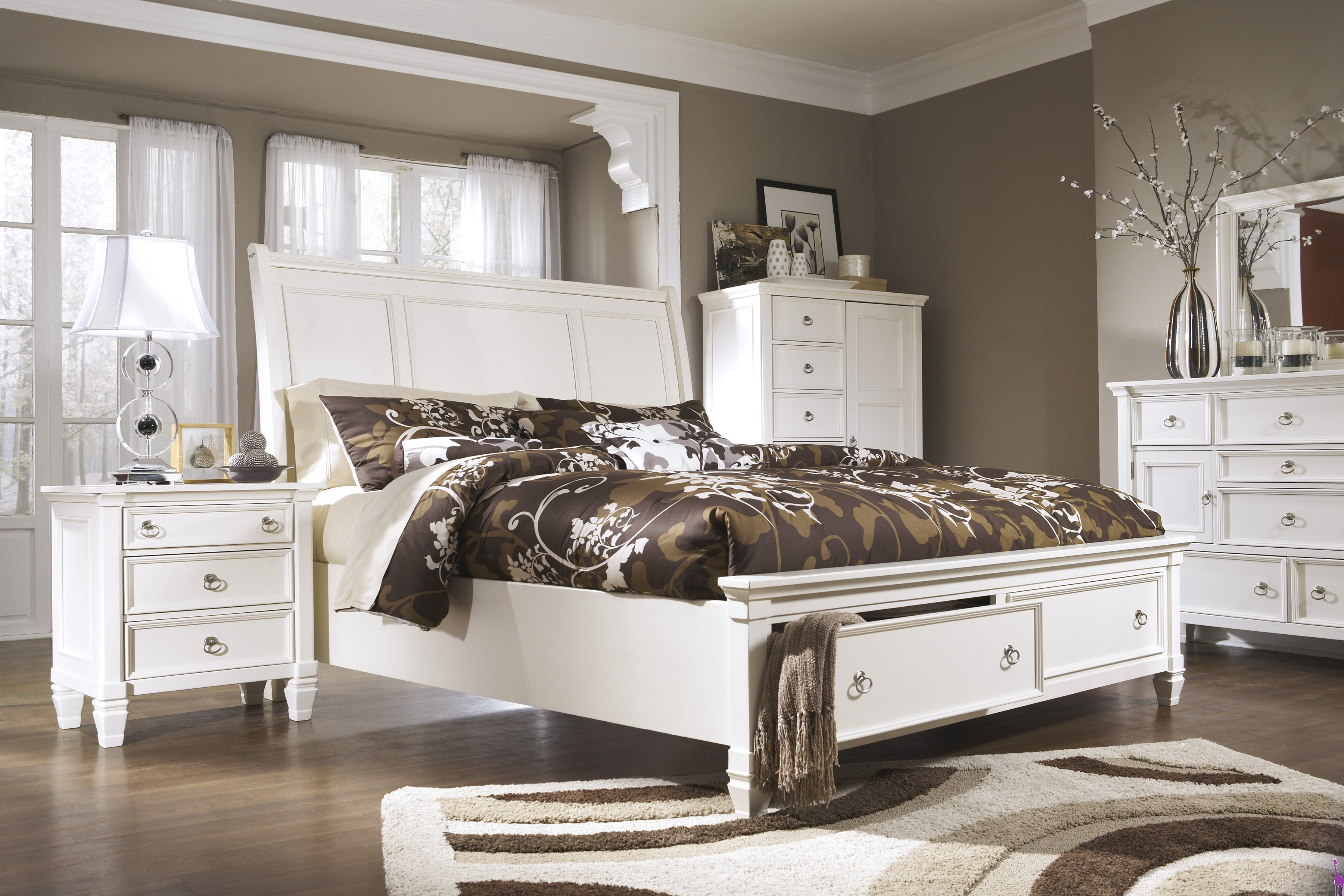 Superb Ashley Prentice Bedroom Collection True Beauty To Any Home Interior And Landscaping Mentranervesignezvosmurscom