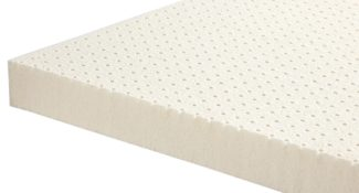 Sleep Shop Mattress Store - Richmond, North Vancouver, Abbotsford, Langley - Nature's Embrace Natural Dunlop Latex Topper with Organic Cotton Sleeve