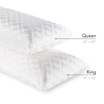 Sleep Shop Mattress Store - Richmond, North Vancouver, Abbotsford, Langley - Zoned Active Dough Lavender Pillow Tencel Cover