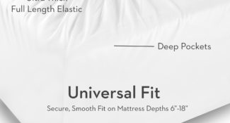 Malouf Brushed Microfiber Sheet Set Universal Fit