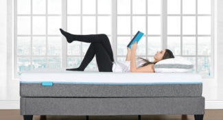 "Sleep Shop Mattress Store - Richmond, North Vancouver, Abbotsford, Langley - Lexi 10.5"" Gel Memory Foam Mattress - Bedroom"