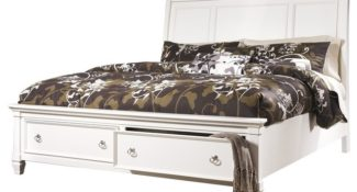 Ashley Prentice Sleigh Storage Bed